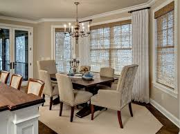 curtain ideas for dining room dining room window treatments ideas and types you might like home