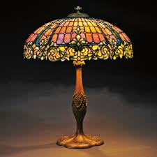 Mosaic Table Lamp The Value Of Mosaic Glass Antique Tiffany Lamps Duffner