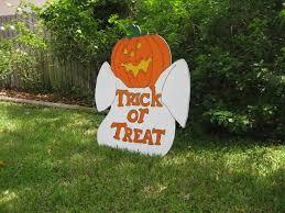 popular items for halloween yard art on etsy halloween yard art