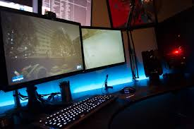 Gaming Desk Ideas Furniture Professional And Cool Gaming Desk Design Ideas 12 Cool