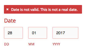 montauk template date change on form answers