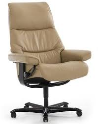 Stressless View Office Base Medium Office Chair  Recliners