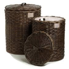 Dirty Laundry Hamper by Round Wicker Laundry Hamper Clothes Hamper The Basket Lady