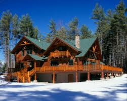 delmar log home floor plan by hiawatha log homes