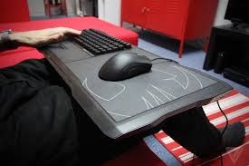 best lap desk for gaming the roccat sova lapboard is the best way to play pc games on your