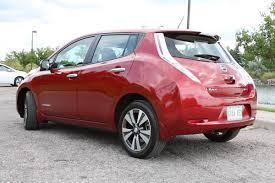 nissan leaf canada used car review 2015 nissan leaf driving