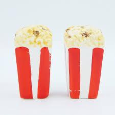 vintage grynnen barrett movie popcorn salt pepper shakers set