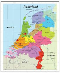 Map Of Netherlands Map Of Netherlands And Belgium Free Map Of Belgium And The