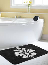 White Fluffy Bathroom Rugs Bath Rugs Buy Bathroom Mats Online In India Myntra
