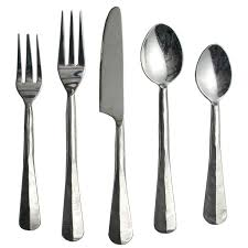 stainless flatware u2013 celebrations party rentals
