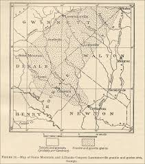Northeast Georgia Map Georgia