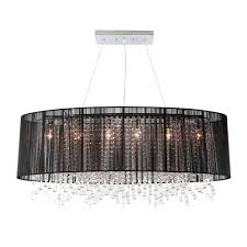 black chandelier lamp shade u2013 tendr me