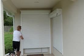 Interior Security Window Shutters Rolling Roll Down Hurricane Shutters Rolling Roll Down And