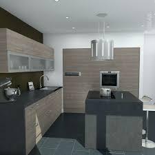 modele de cuisine avec ilot modele de cuisine moderne inspirant table de cuisine en bois