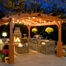 Canopy String Lights by Newhouse Lighting Weatherproof Party String 25 Ft Light Bulbs