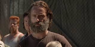 rick grimes hairstyle the walking dead r i p rick grimes beard