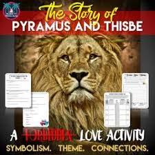 theme of romeo and juliet and pyramus and thisbe pyramus and thisbe reading guide symbolism theme and connections