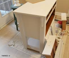 chalk painted buffet cabinet makeover