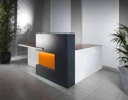 Industrial Reception Desk by Office Furniture Modern Office Desk Furniture Expansive Plywood