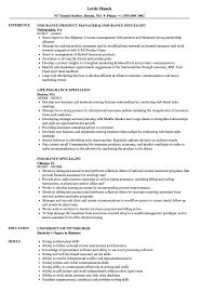 insurance resume exles insurance specialist resume sles velvet