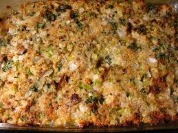 it would not be thanksgiving without oyster dressing olny i use