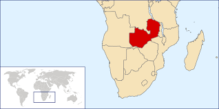 Zambia Map Detailed Zambia Location Map Detailed Location Map Of Zambia