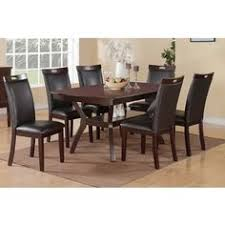 Overstock Dining Room Furniture by Shop For Urban Style Solid Wood Leatherette Padded Parson Chair