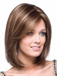 medium length hairstyles for fuller faces shoulder length hairstyles for round faces inexpensive wodip com