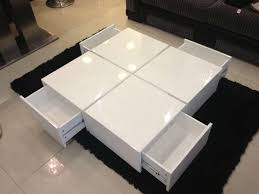 glossy white coffee table view photos of white high gloss coffee tables showing 10 of 20 photos
