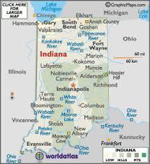 indiana map us indiana map geography of indiana map of indiana worldatlas com