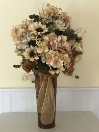 floral home decor floral centerpiece christmas decor large