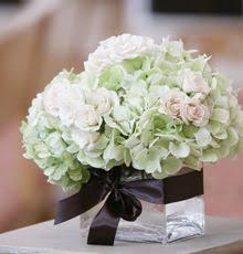 White Hydrangea Centerpiece white hydrangea centerpiece wedding flowers pinterest white