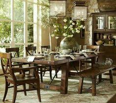 banks oval dining table pottery barn design trend artisanal
