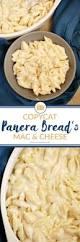panera u0027s mac u0026 cheese recipe food folks and fun