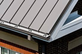 petersen metal roof panels help provide residential look for new