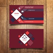 card design modern business card design vector free