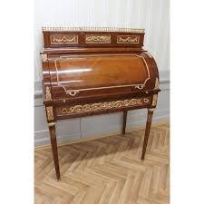 bureau secretaire antique secrétaire antique style baroque bureau plat louis xv mosc0383