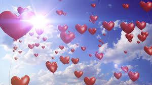 heart balloons heart balloons downloops creative motion backgrounds