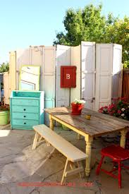 home decor from recycled materials 16 best recycled garage doors images on pinterest backyard ideas