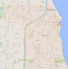 Joliet Illinois Map by Evanston Illinois Map