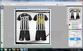 desain kaos futsal di photoshop proses desain awal mula terciptanya kostum futsal impian kamu
