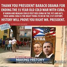 Cuba Meme - lib meme on obama s cuba visit ripped to shreds with facts