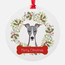 italian greyhound ornament cafepress