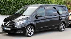 luxury minivan 2015 mercedes benz v class camper van luxury youtube