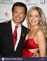 jack truong christina moore american red cross annual red tie