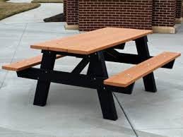 Indoor Picnic Table Recycled Plastic A Frame Picnic Table By Jayhawk Plastics