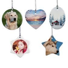 custom ornaments personalized custom ceramic oval ornaments