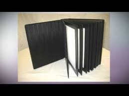 8x10 photo album 8x10 black slip in wedding parent photo album holds