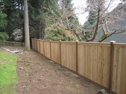 horizontal wood fence cedar home u0026 gardens geek