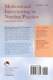 motivational interviewing in nursing practice empowering the